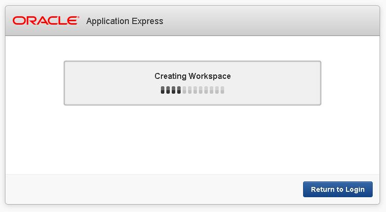Процесс создания пространства (Workspace)