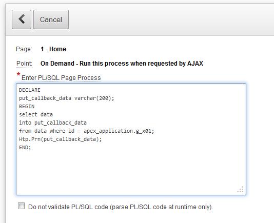Code Ajax callbacks